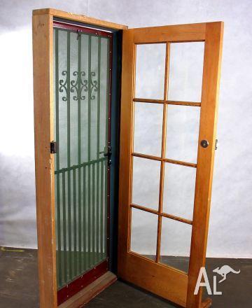 Front & Back Door & Frame Sets - Sliding & Hinged Types