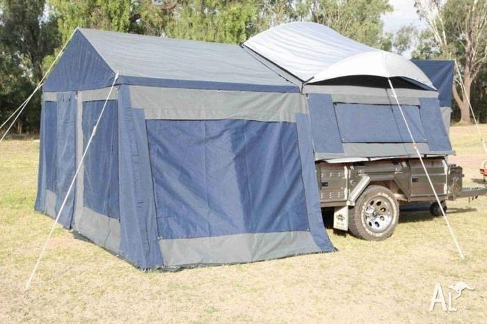 Awesome Camper Trailer 7x4  Tent 12 Ft For Sale In Brisbane QLD  Camper