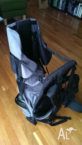 Fully adjustable baby / infant hiking backpack /