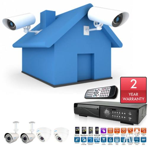 FULLY INSTALLED CCTV Security system for home &