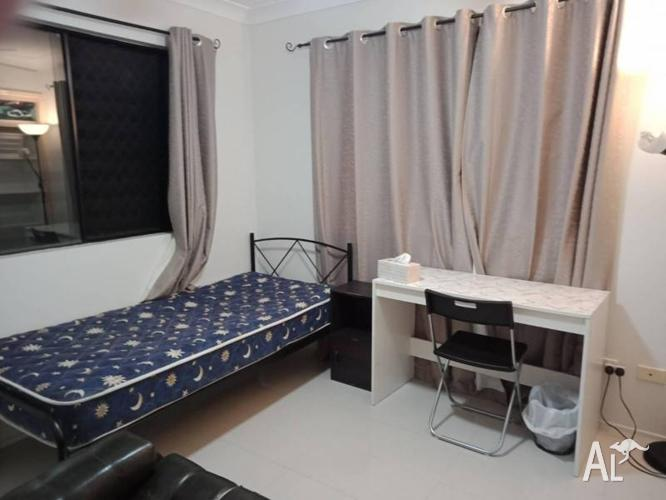 Furnished bedroom in St Lucia available now