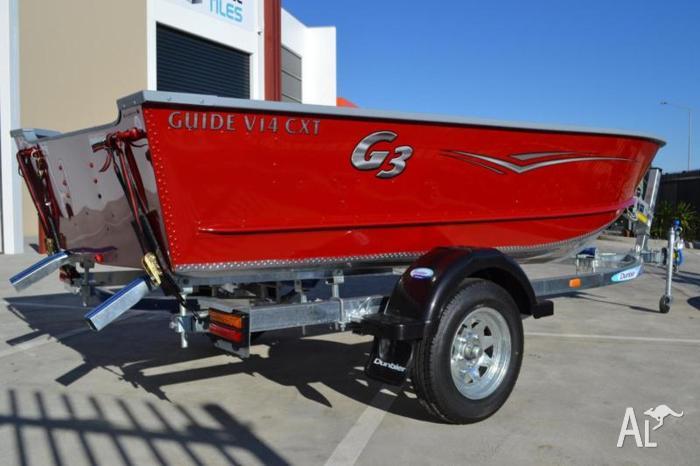 G3 Angler Guide V14 CXT (Aluminium V-Bottom Extra Wide