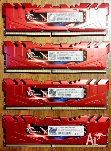 G.SKILL Ripjaws 4 series 16GB (4 x 4GB) DDR4