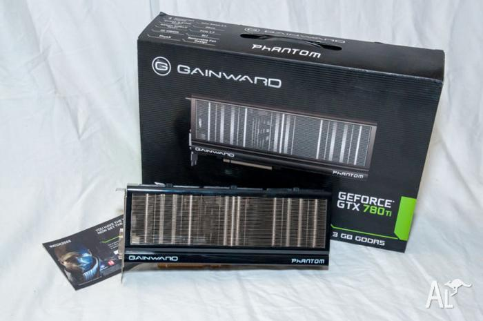 Gainward Phantom GTX 780Ti with unused Watch Dogs game