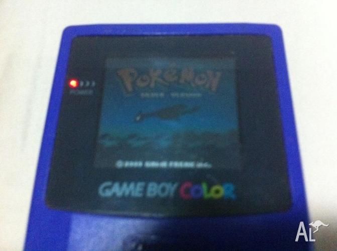 Gameboy Colour and Pokemon Silver
