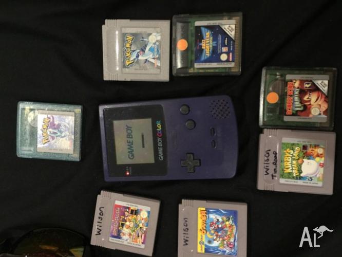 Gameboy Colour Purple +7 games