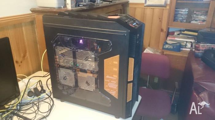 Gaming PC, Watercooled, 7970SOC, 256gb SSD, Intel I5