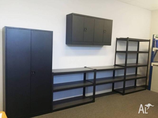 Garage Storage Solution Workbench, Shelving and Metal