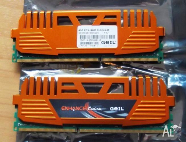 GeIL Enhance CORSA 8GB (2 x 4GB) 240-Pin DDR3 SDRAM