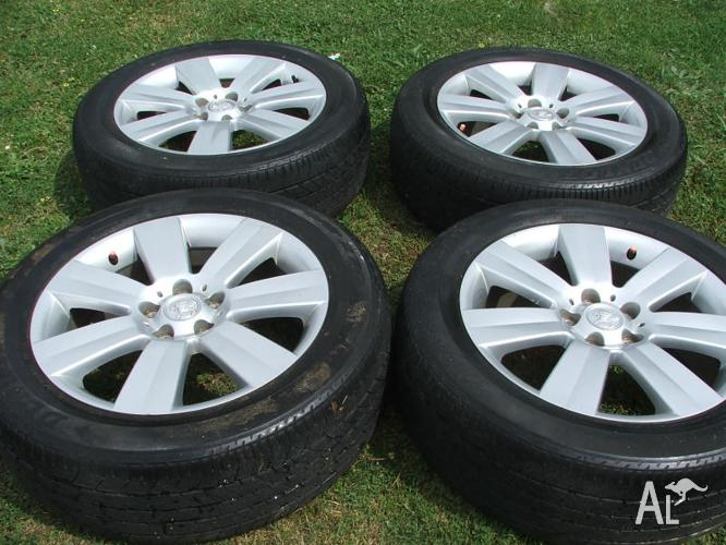 Genuine 18'' Holden Captiva Alloy Wheels And Tyres for Sale