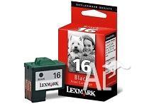 Genuine Lexmark 16 black print cartridge