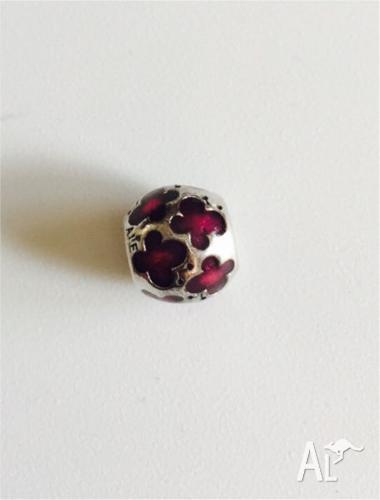 Genuine Pandora Purple Butterflies charm