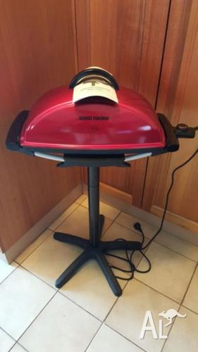 George Foreman indoor /outdoor BBQ grill in as new