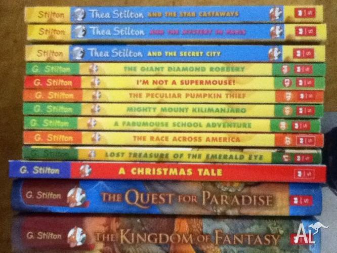 Geronimo Stilton/ Thea Stilton Books