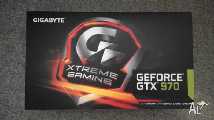 Gigabyte GeForce GTX 970 Xtreme Gaming 4GB