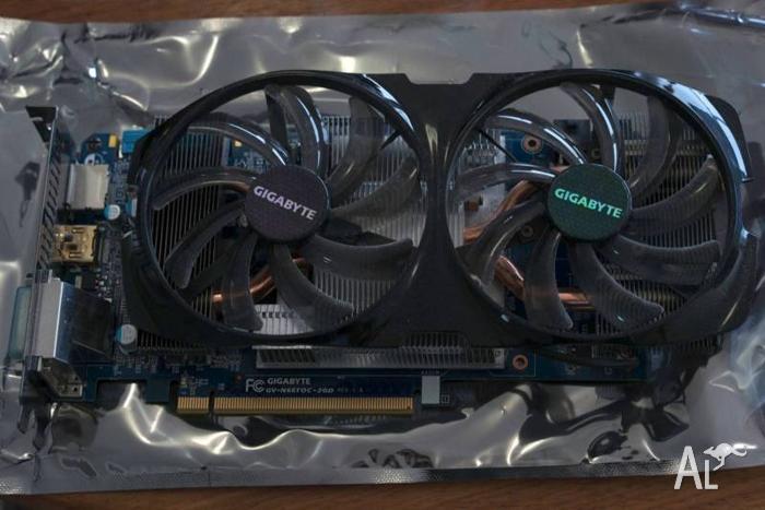 Gigabyte GTX 660ti GPU OC 2GB GDDR5