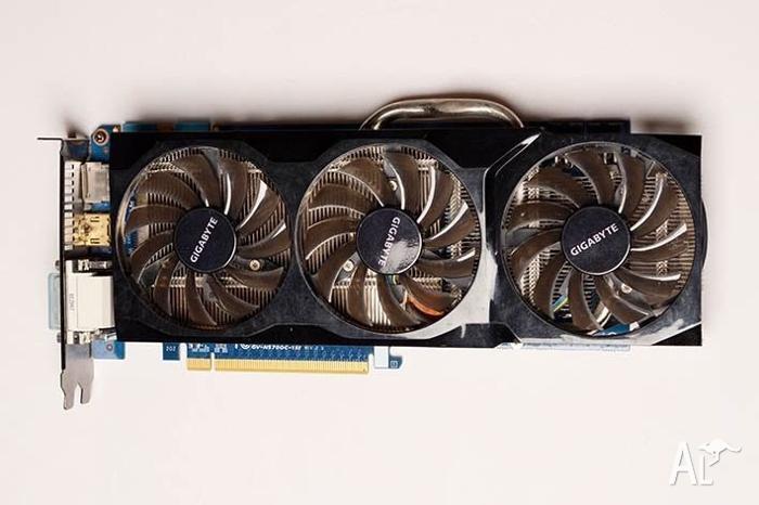 Gigabyte Nvidia GTX 570 1280mb GDDR5