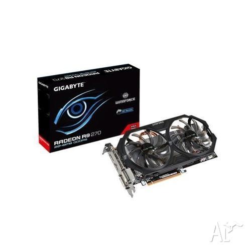 Gigabyte R927OC-2GD 2GB R9-270 PCI-E VGA Card