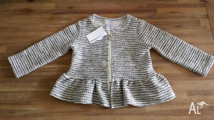 GIRLS CARDIGAN - SIZE 2 BRAND NEW WITH TAGS