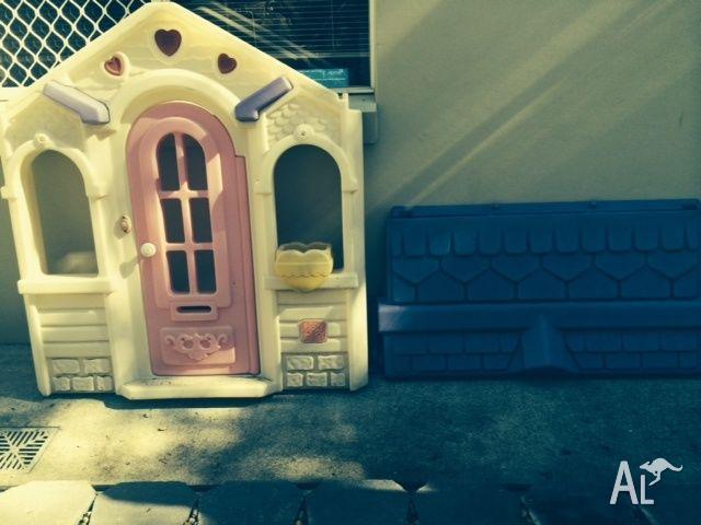 Girls Cubby House