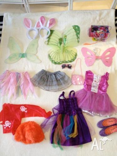Girls dress ups (suit ages 2-4)