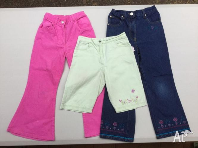 Girls Jeans and Shorts - sizes 5 & 6 - $4 each