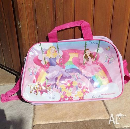Girls Messenger Bag Fairies GC Sleepover