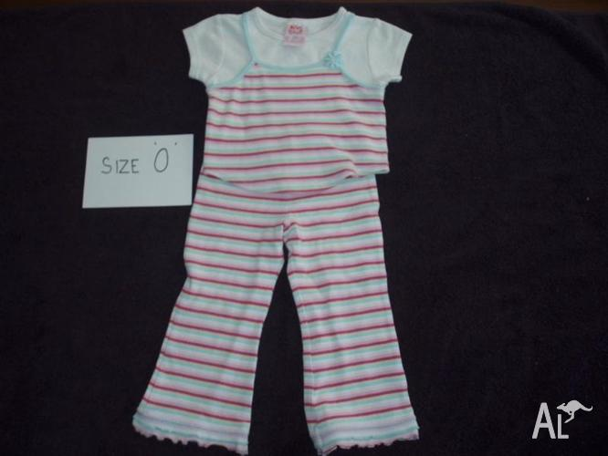 Girls size 0. PRICES from $3.50 - $7.50