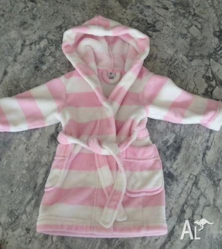 Girls winter dressing gown