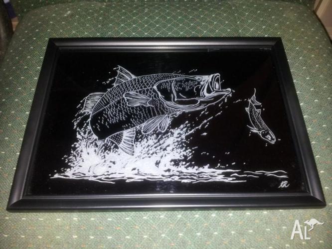 Glass Engravings.