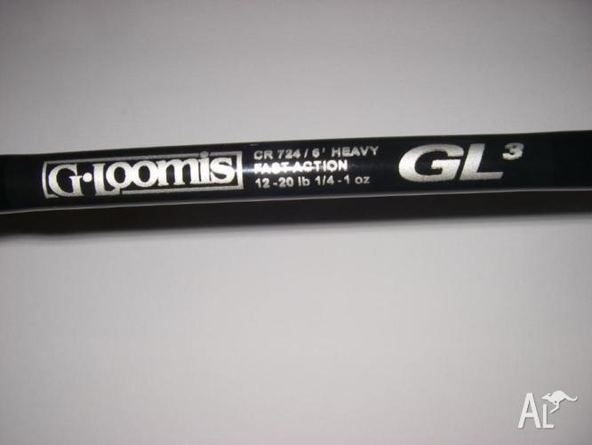 gloomis GL3 baitcasting rods
