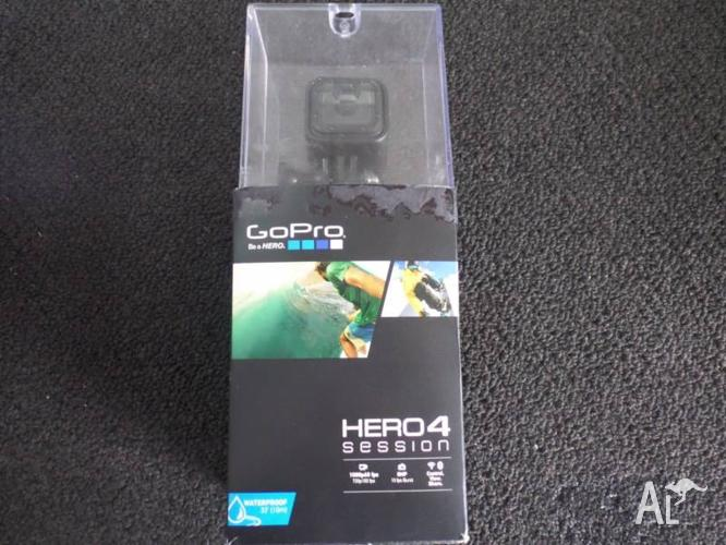 GO PRO - HERO 4 SESSIONS WATERPROOF ACTION CAMERA