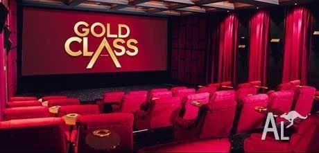 Gold class cinema voucher