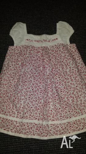 Gorgeous Organic Cotton Size 2 dress from Tiny Twig