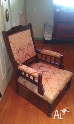 Grandfather and grandmother chairs