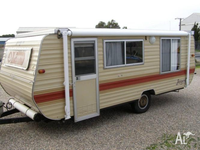 Great value 1984 Jayco Pop Top with roll out Awning and ...