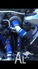 Greddy T67-25g genuine turbo kit for SR20, blitz intercooler kit for