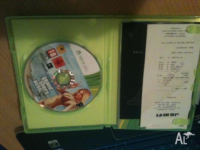 GTA V (Grand Theft Auto V) - XBOX 360 USED
