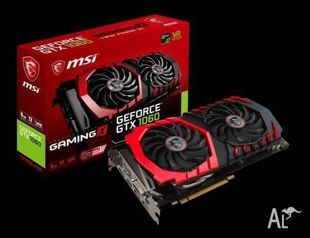 GTX 1060 6GB MSi Gaming X (unboxed)