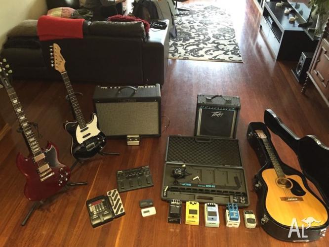 Guitar, Amp and Pedal Bundle