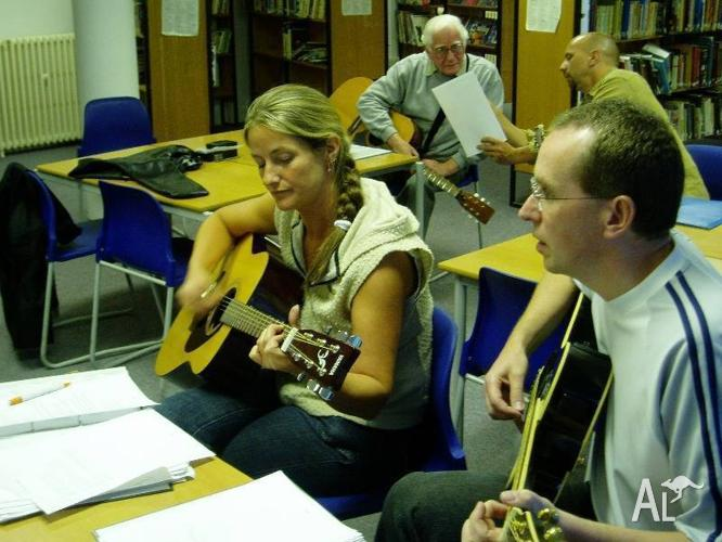 GUITAR LESSONS AT WOODCROFT ADULT EDUCATION