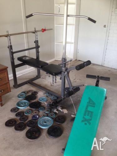Gym set- can deliver