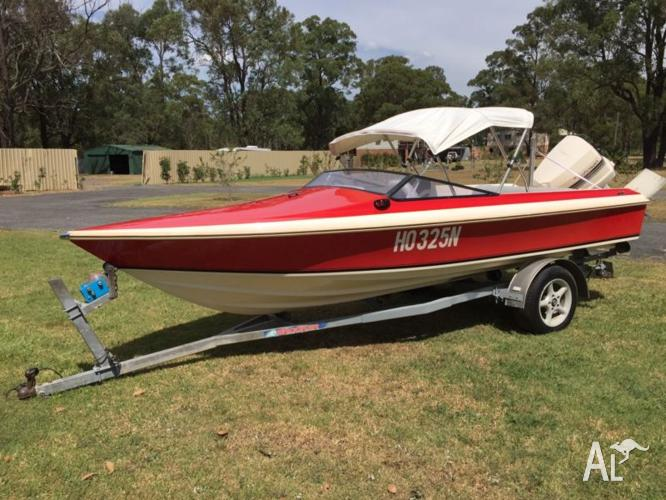 Haines Hunter 1600SO Ski boat with 140Hp Johnson