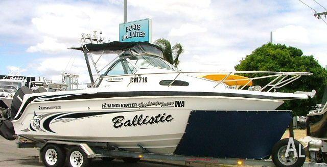 Haines Hunter Patriot 680 Island Cab Reduced Buy Now