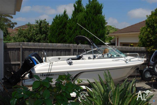 Haines Hunter V17 Legend Runabout For Sale For Sale In