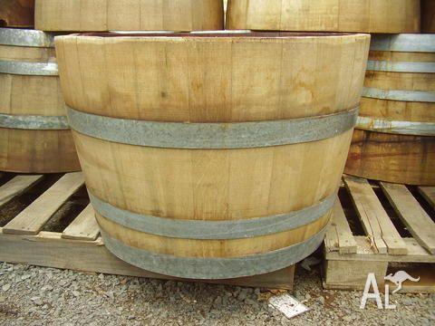 Half Wine Barrel For Sale In Ascot Vale Victoria Classified