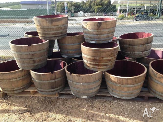 Half Wine Barrels For Sale In Noarlunga Centre South Australia