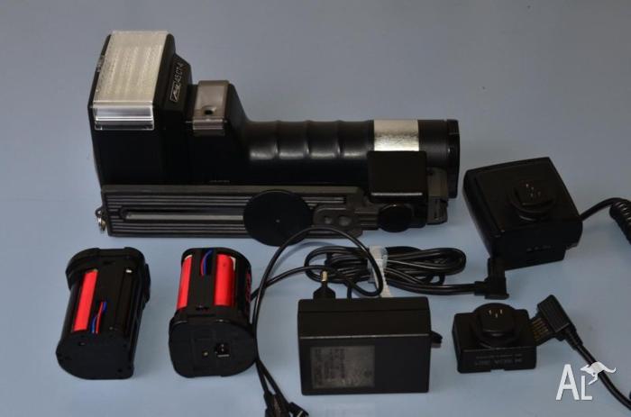 Hammer Head Flash Speedlight METZ 45 CT-4 TTL Swivel