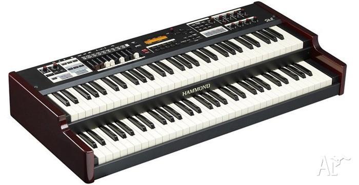 Hammond SK2 Organ, Gig Bag Exp 50 Pedal
