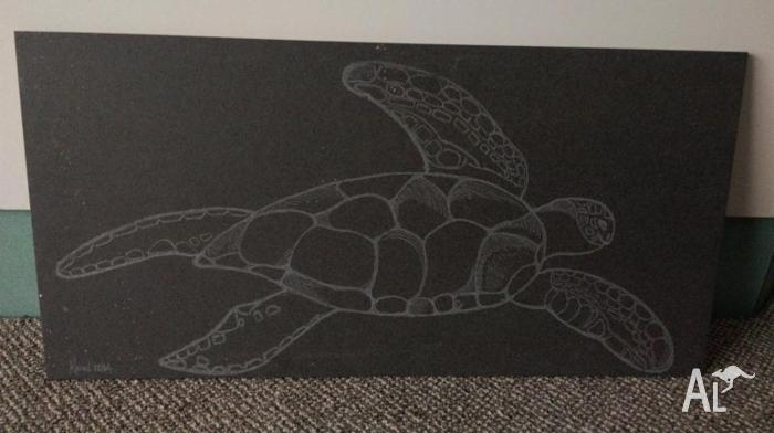 Hand Engraved Tile Art On To Individual Loose Floor